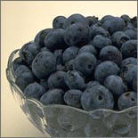 Freshly Picked Blueberries from Curley's Quality foods Galway. Think Fresh, Think Quality, Think Curley's