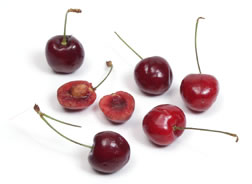 Fresh Cherries from Curley's Quality foods Galway. Think Fresh, Think Quality, Think Curley's