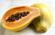 Fresh Papaya from Curley's Quality foods Galway. Think Fresh, Think Quality, Think Curley's