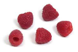 Freshly picked farm Raspberries from Curley's Quality foods Galway. Think Fresh, Think Quality, Think Curley's