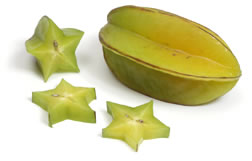 Fresh Star Fruit from Curley's Quality foods Galway. Think Fresh, Think Quality, Think Curley's