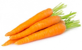 Cooked Whole Finger Carrots X50
