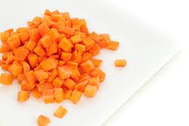 Carrot Diced Bag 5 Kg
